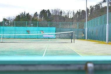 金谷運動広場 テニスコート